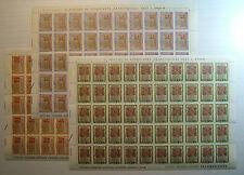 1972  ITALIA  50+90+180 lire  Divina Commedia    fogli interi MNH**