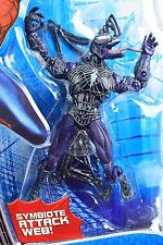 Spider-Man 3 Movie Super Posable VENOM w/ CAPTURE WEB Action Figure Marvel NEW