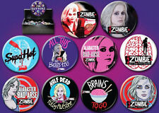 iZombie TV Series Metal Photo Button Assortment of 144, NEW BOXED
