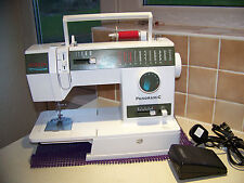 SINGER PANORAMIC 9018 MULTISTITCH HEAVY DUTY SEWING MACHINE,ACC,.EXPERT SERVICED