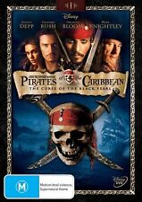 Pirates Of The Caribbean - The Curse Of The Black Pearl (DVD, 2011)