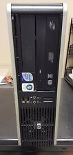 HP DC 7900 SFF Desktop PC Core 2 Duo 3.16Ghz 4GB 250GB DVD  Windows Key