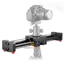 DSLR Camera Video Slider Dolly 50cm Track Rail Stabilizer 100cm Sliding with Bag