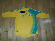 ADIDAS SOUTH AFRICAN BAFANA HOME 2008 SOCCER YOUTH JERSEY SIZE LG AFRICA 11-12YR