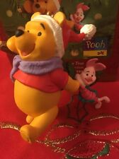 Christmas Disney Hallmark Keepsake Winnie Pooh Chooses The Tree Ornament  In Box