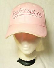 Vintage San Francisco Pink Ladies Baseball Trucker Cap Hat Embroidered One Size