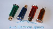 KIT CAR / CLASSIC Dashboard Warning Lights / Panel Indicator Lamp x 4 colours