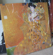 Klimt Adele Woman in Gold Oil Painting 28x28 NOT a print.Box Framing Avail.
