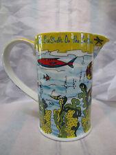 Paul Cardew Design Pitcher She Sells Sea Shells Juice/Milk/Water Beach Nautical