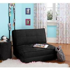 Modern Futon Sofa Bed Kids Flip Chair Sleeper Lounge Bedroom Dorm Game Room New