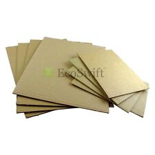 "40 5x7 Corrugated Cardboard Pads Filler Inserts Sheet 32 ECT 1/8"" Thick 5"" x 7"""