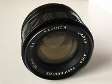 M42 Screw Fit - Yashica Yashinon 50mm F1.4 FAST  Manual Focus Lens