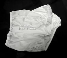 VANITY FAIR PERFECTLY YOURS LACE WHITE 13001/13801 NYLON BRIEFS PANTIES~6/M~NEW
