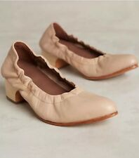 NEW Anthropologie Rachel Comey Calder Low Beige Heels $345 Sz 7 Sold Out Online!