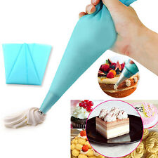 1pcs Silicone Reusable Icing Piping Cream Pastry Bag Cake Decorating Tool