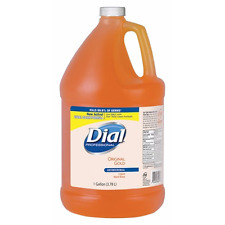 Dial Gold Antimicrobial Liquid Hand Soap-Gallon Size Refill 88047 FREE SHIPPING