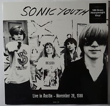 Sonic Youth - Live in Austin - Nov 26, 1988 LP 180g vinyl NEU/SEALED