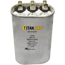 Packard TOCFD2510 Titan Pro Motor Run Capacitor 25+10 MFD 370V OVAL Capacitor