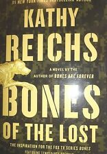 Bones of the Lost by Kathy Reichs new hardcover Book Club edition