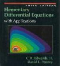 Elementary Differential Equations by David E. Penney and C. H. Edwards (1994,...