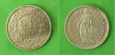 SWITZERLAND 835 silver 2 francs 1939