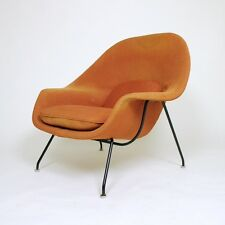 Vintage Original Knoll Eero Saarinen Womb Lounge Chair with Arms Mid Century