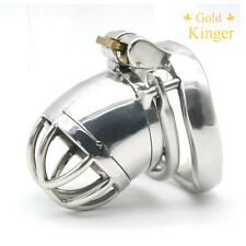 Latest Design  Male Chastity Devices Stainless Steel Small Chastity Cage CD098-2