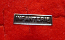 """MINIATURE FRENCH MEDAL RIBBON BAR """"INFANTRY"""""""