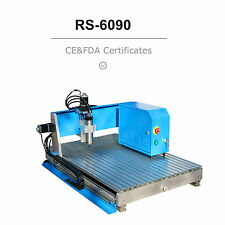 Desktop 3 Axis CNC Router Engraver Milling Machine RS-6090 With Best Price