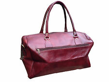 Boho Style Traditional Leather Duffel Bag Holdall Travel Bag - CLEARANCE