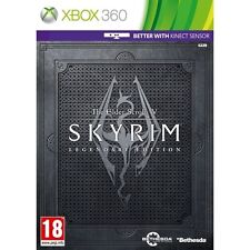 The Elder Scrolls V 5 Skyrim Legendary Edition Microsoft Xbox 360 PAL Brand New