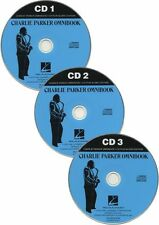 Charlie Parker Omnibook Learn to Play Saxophone Alto Sax Music Play-Along CDs
