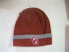 Nike University of Oklahoma NCAA Crimson Beanie One Size Brand New With Tags