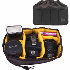 Selens Flexible Insert Partition Padded Bag Case for DSLR SLR Lens Camera Flash