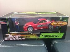 Ertl Joyride The Fast And The Furious 1993 Mazda RX-7 Diecast 1:24 W/ Mia Figure