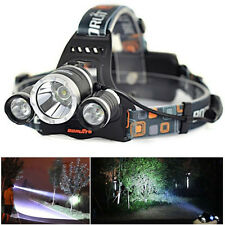 11000Lm T6+2R5 3*XML LED Headlamp Head Light 18650 Torch 4 Modes lamp flashlight