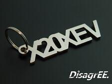 """Schlüsselanhänger """"X20XEV"""" - Astra Zafira 16V - hochwertiger Edelstahl"""