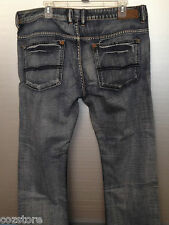 Buffalo Jeans 3100212A Classic Fit Distress Denim Boot Cut Mens  Size 38 x 30
