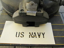 "Stencil penny gabarit us navy 1 1/2"" JEEP DODGE marines army usmc vietnam"