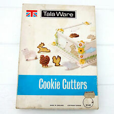 Vintage Retro Tala Ware Set 12 Cookie Cutters