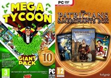 Mega Tycoon compilation + Patricians&Merchants Box    NEW SEALED