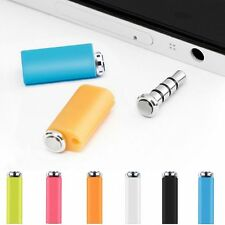 Smart Key Quick Button Auxiliary Gadget 3.5mm Earphone Jack Dust Plug for Phone
