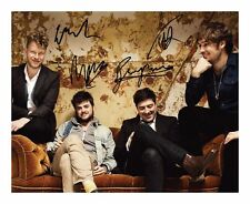 MUMFORD & SONS SIGNED AUTOGRAPHED A4 PP PHOTO POSTER