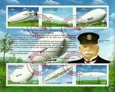 100th. ANNIV. OF THE FIRST ZEPPELIN, VERY NICE SOUVENIR SHEET, LOT # 303