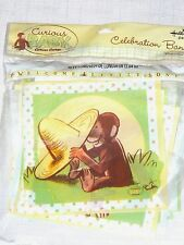 NEW BABY CURIOUS GEORGE  BABY SHOWER   1-PLASTIC CELEBRETION  BANNER 10ft.LONG