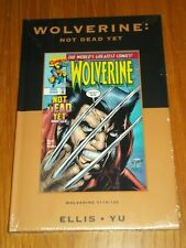 MARVEL PREMIERE CLASSIC VOL 20 WOLVERINE NOT DEAD YET HARDBACK 9780785137672