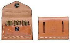 DeSantis A08TJG1Z0 2X2X2 A08 Tan Leather Shell Holder Ambidex .38 .357 Caliber