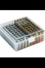 BERRY'S AMMO BOX CASES (6)  CLEAR 22LR 45 ACP 10MM 40 S&W 100 round  MPN 008