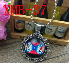 2015 Browning Deer Silver Plated CHAIN NECKLACE Alloy & Pendants #XMB-37