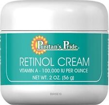 Retinol Cream (Vitamin A 100,000 IU Per Ounce) ( 2 oz Cream 56 g )